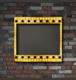 film strip gold vector image