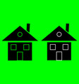 house icon home icon vector image