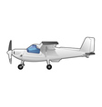 private aircraft vector image vector image