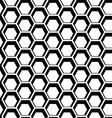 seamless hexagon vector image vector image