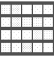 seamless pattern basketball ball vector image vector image
