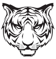 tattoo tigers head vector image vector image