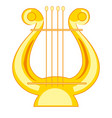 music instrument lira vector image