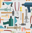 Hand tools seamless Pattern background vector image