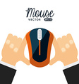 mouse device vector image vector image