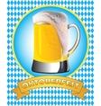 Oktoberfest poster design vector image