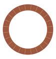 round guitar fretboard vector image vector image