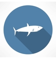 Shark Icon vector image vector image