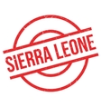 Sierra Leone rubber stamp vector image