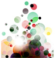 abstract colourful backgroung vector image vector image