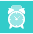 Alarm clock sign vector image vector image