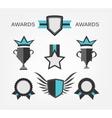 Award Sign and symbol vector image vector image