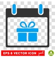 Gift Box Calendar Day Eps Icon vector image vector image