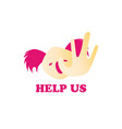 koala asking to help us pray for australia vector image
