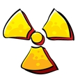 Radioactivity sign vector | Price: 1 Credit (USD $1)