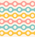 vintage seamless abstract pattern vector image