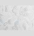 3d topographic map contour elevation concept