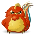 angry bird vector image