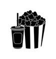 cinema pop corn vector image