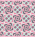 geometric color seamless pattern of pastel shades vector image vector image