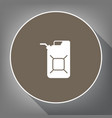 jerrycan oil sign jerry can oil sign vector image vector image