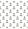 new female avatar pattern seamless vector image vector image