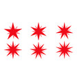 red beams firework best for sale sticker vector image