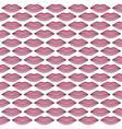 sexy female lips pop art style pattern vector image