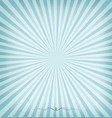 sunburst blue background vector image