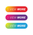 view more colorful button set vector image