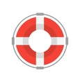 Life Buoy with Rope vector image