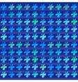 Clover flower pattern vector image vector image