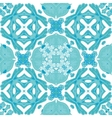 Damask seamless pattern background moroccan vector image