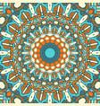 detailed mandala design background vector image vector image