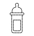 feeding bottle isolated vector image vector image