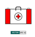 first aid icon colour style eps 10 vector image vector image