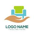furniture logo design and icon vector image