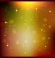 glow star bokeh background vector image