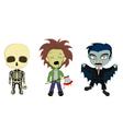 Halloween Costume Kids vector image vector image