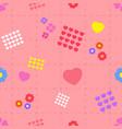 heart full seamless vector image