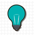 lightbulb isolated design vector image