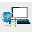 online education design vector image vector image