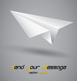 Paper plane vector | Price: 1 Credit (USD $1)