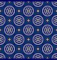 Seamless - blue oriental bloom tiles