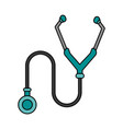 stethoscope vector image vector image