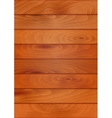 Wood texture background with planks or boards vector image vector image