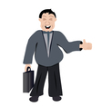 office man vector image