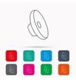 Sound icon Audio speaker sign vector image