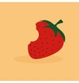 Abstract delicious strawberry vector image