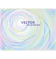 abstract pastel concentric background vector image vector image